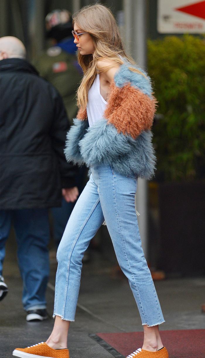 Gigi Hadid sandro jeans: