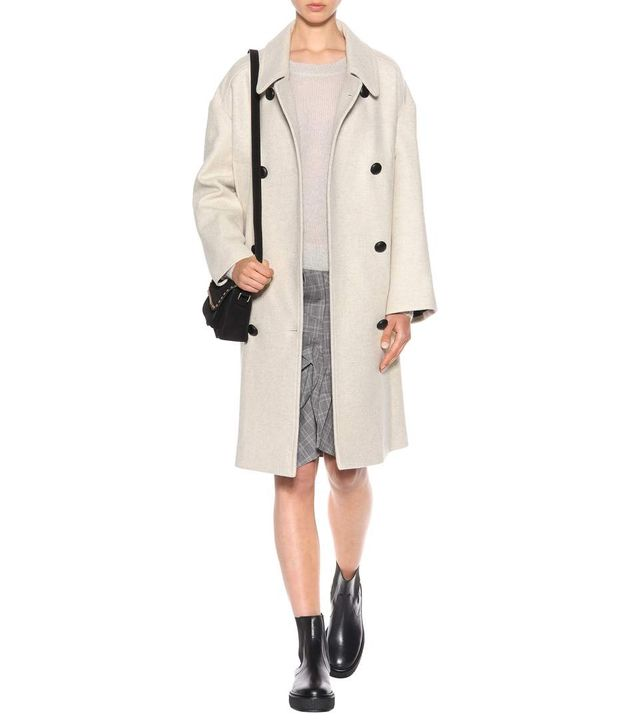 Flicka wool-blend coat