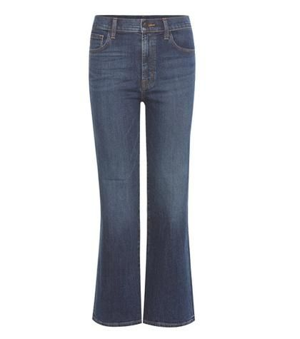 Carolina high-rise flared jeans