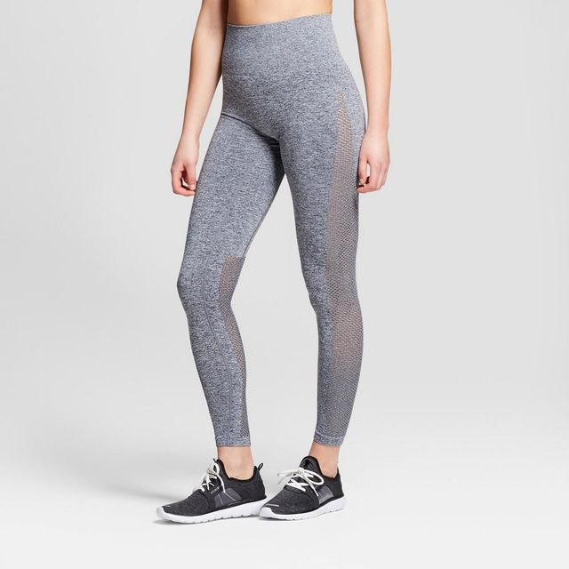 Seamless 7/8 High Waist Laser Cut Leggings