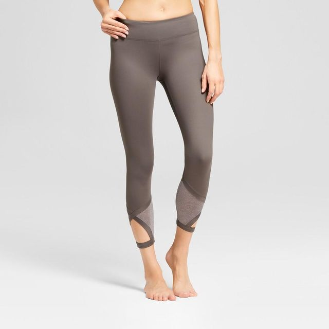 Comfort 7/8 Shine Pieced Leggings