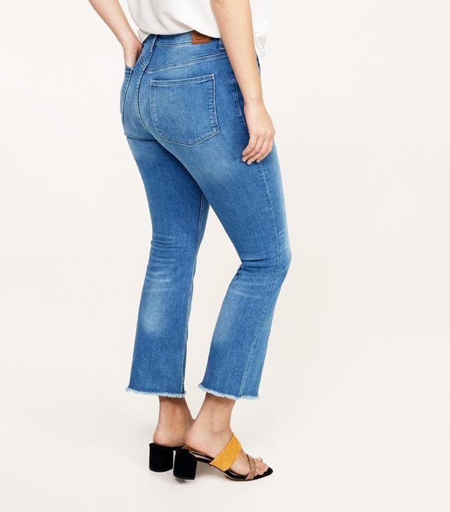 Violeta Jandri Boot Cropped Jeans