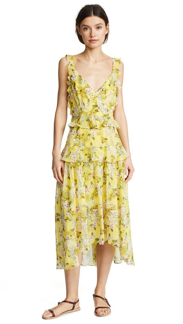 Kaya Silk Print Dress