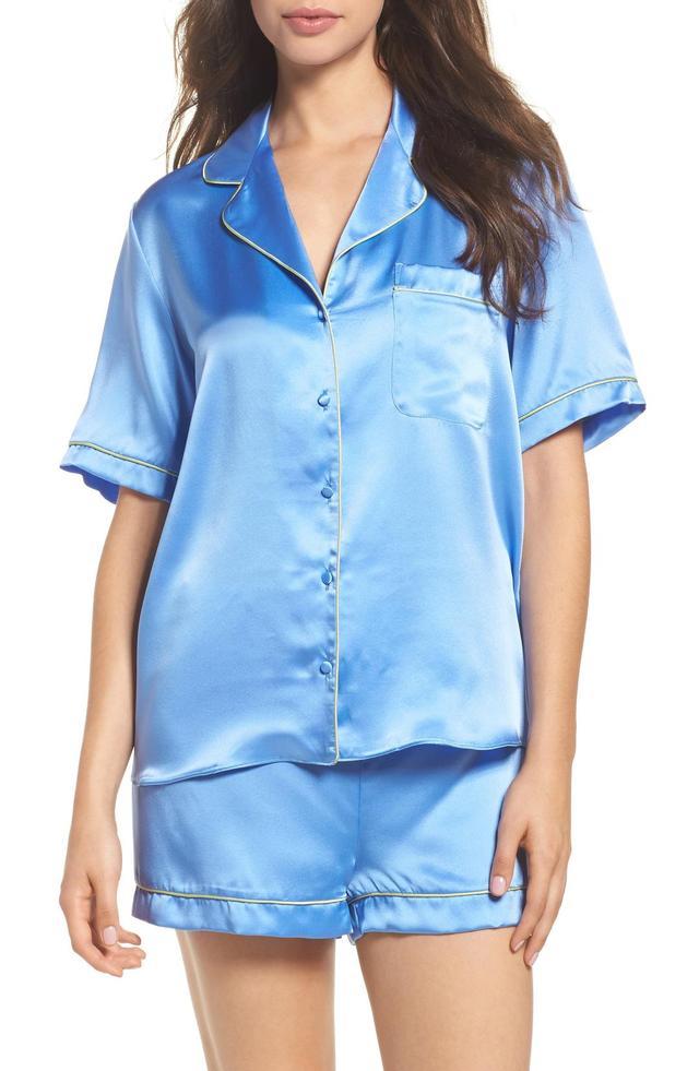 Silk Short Pajamas