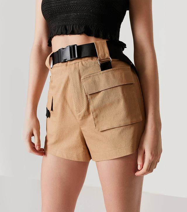 I.Am.Gia Harper Belted Cargo Short
