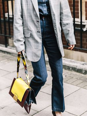 Here's How to Take On Autumn's Dark Denim Trend