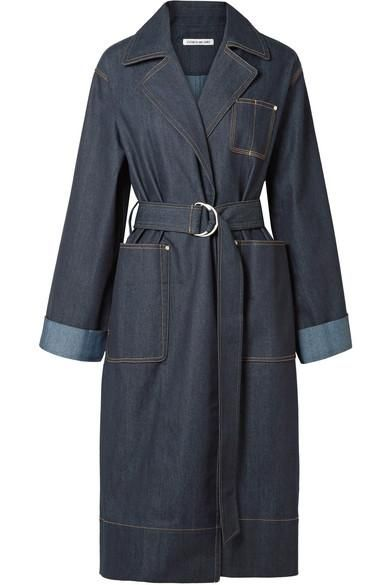 Fletcher Belted Denim Coat