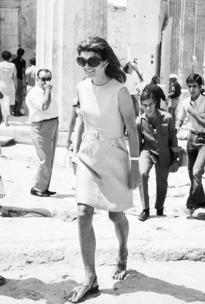 Jackie Kennedy Shoes: These New Sandals Were Inspired By Jackie O.'s Vacations