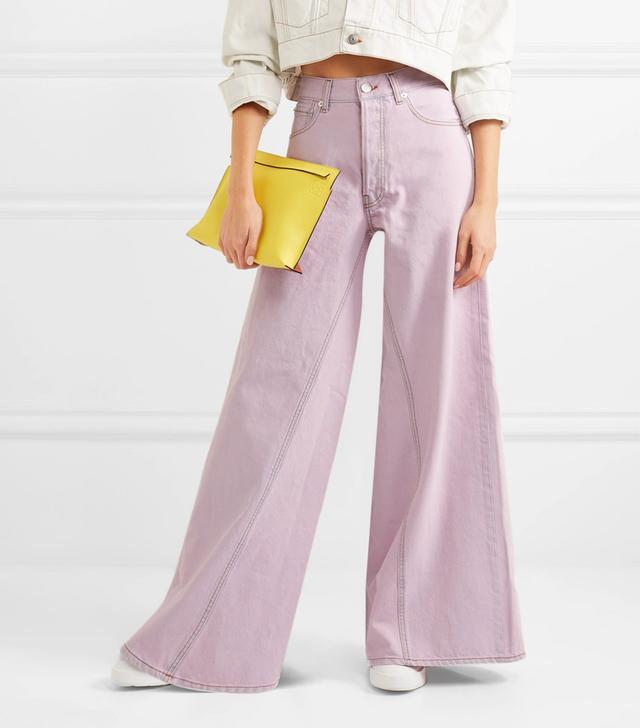 Paneled Jeans