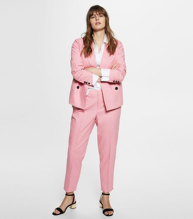 Violeta Linen Suit Trousers