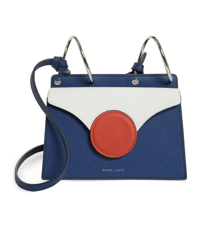 Danse Lente Mini Phoebe Leather Crossbody Bag
