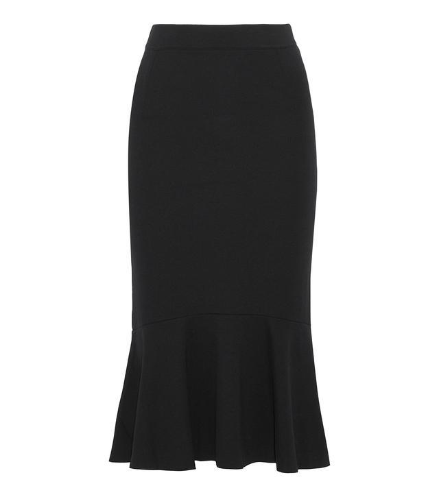 Iris & Ink Eva Fluted Jersey Skirt