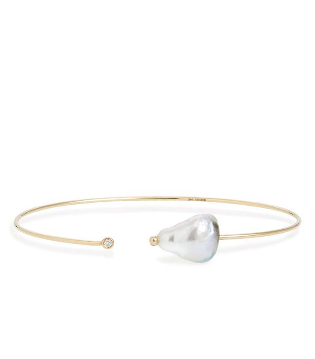 Diamond & Pearl Bracelet
