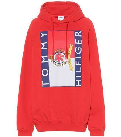 X Tommy Hilfiger oversized hoodie