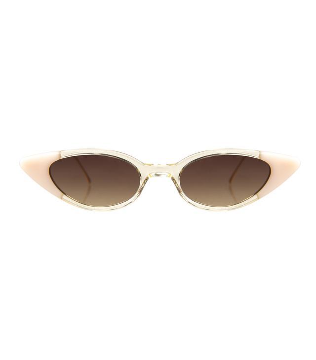 Illesteva Marianne Sunglasses in Champagne Cotton Candy