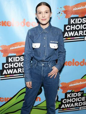 Millie Bobby Brown Honoured Gun Violence Victims at the Kids' Choice Awards
