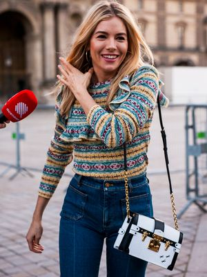 Sienna Miller's French Outfit Combo Is What We Want to Wear All Spring