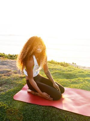 Laughing Yoga: Laughable or Legit? Byrdie Tries It