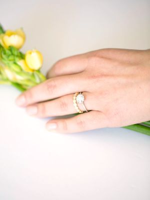 Minimal Engagement Rings for the Modern Bride