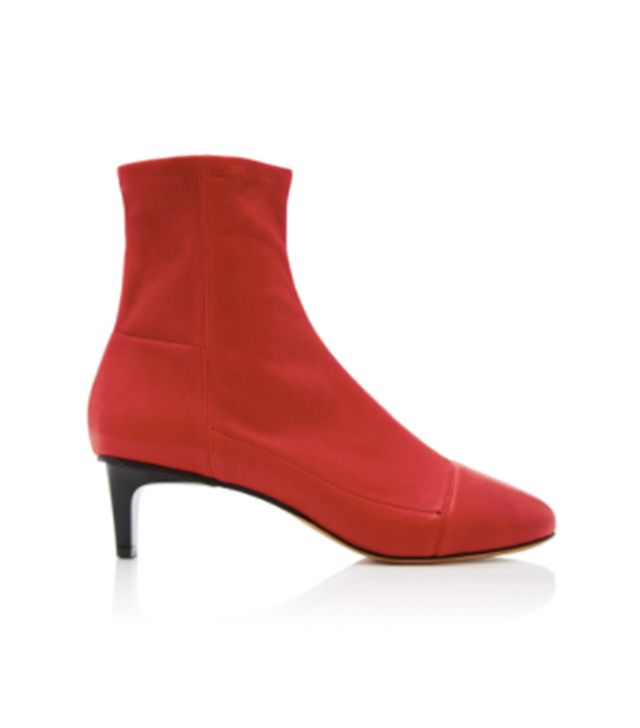 Daevel Leather Ankle Boot