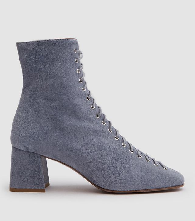 Becca Boot in Jean Suede