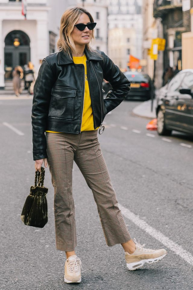 A boxy, cropped shape is the number one jacket style for this autumn, as far as we're concerned.