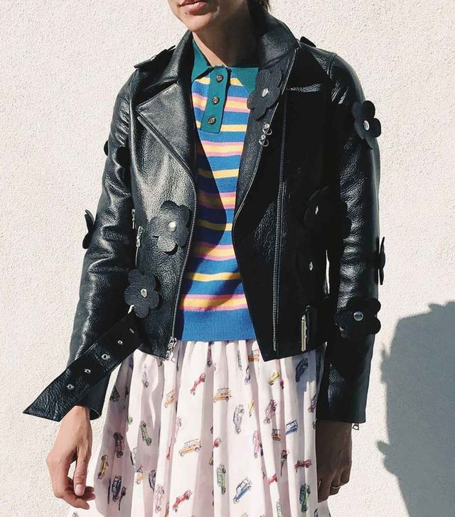 Sandy Liang Petals Delancey Jacket