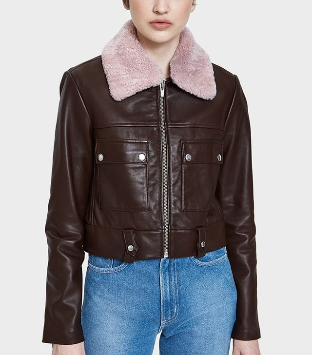 Freeman Jacket With Pink Collar