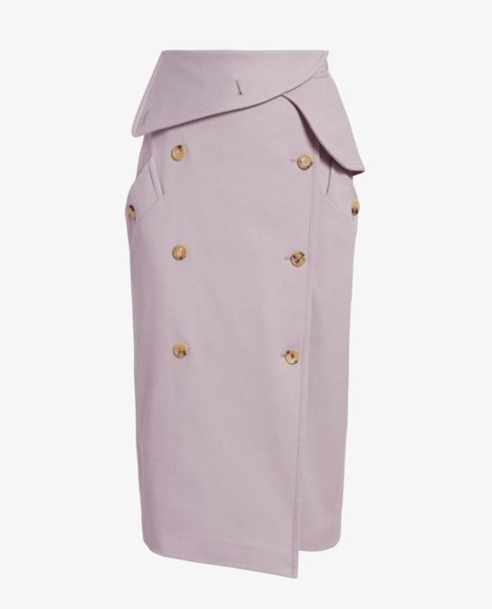 Venusia Wrap Trench Skirt