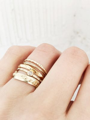 13 Wedding Rings for the Unconventional Bride