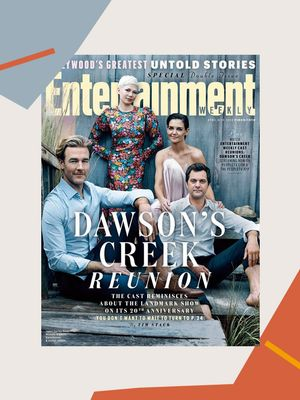 The Cast of Dawson's Creek Reunited on the Cover of Entertainment Weekly