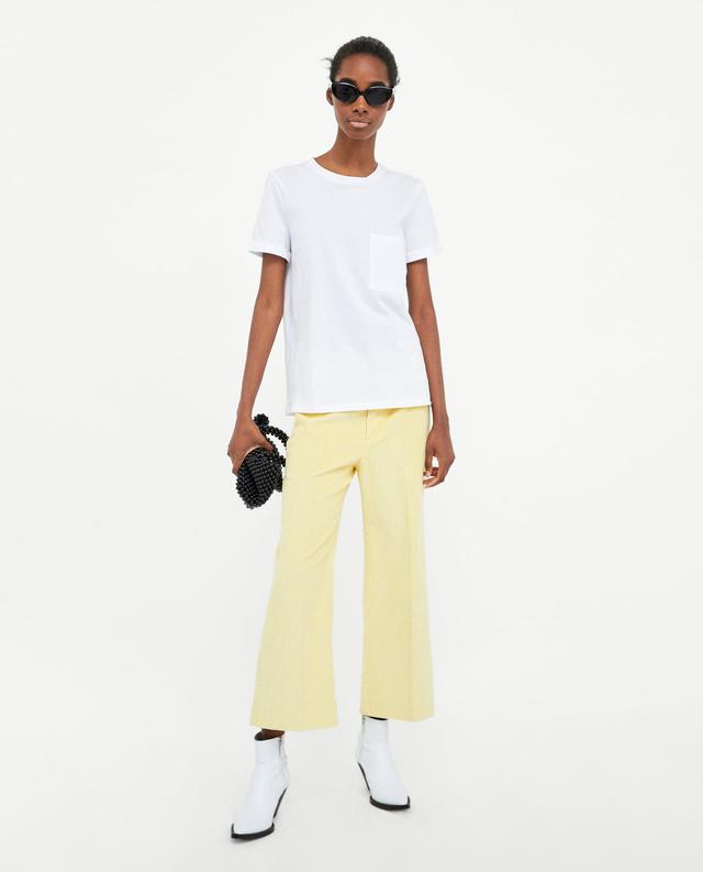 Zara Mercerised T-Shirt