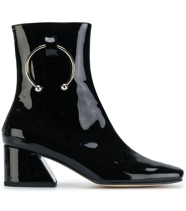 ring detail boots
