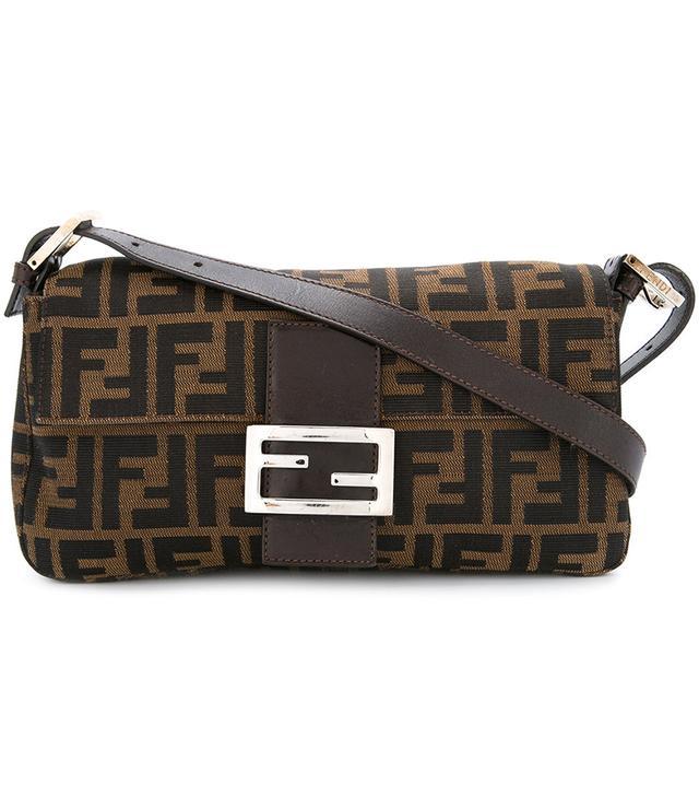 Zucca Pattern Mamma Baguette shoulder bag