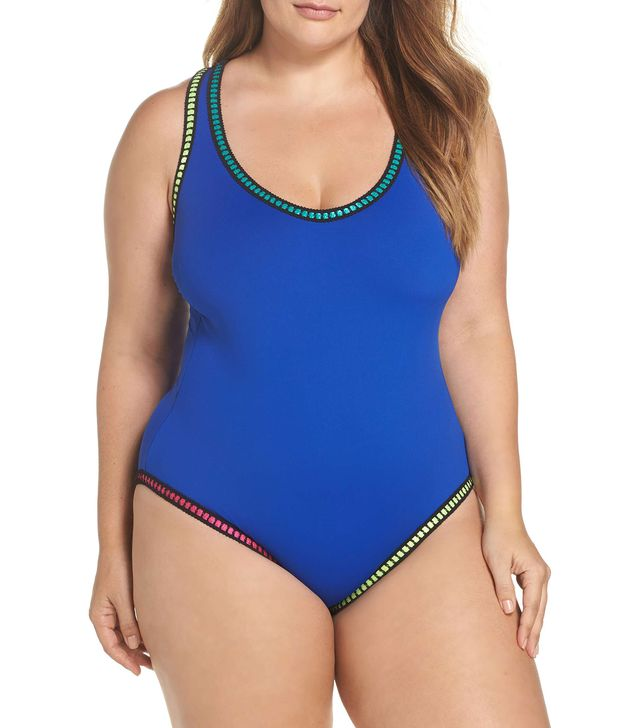 Threading Crossback One-Piece Swimsuit