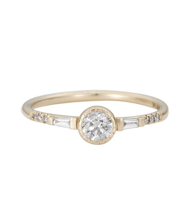 Jennie Kwon Diamond Baguette Ring