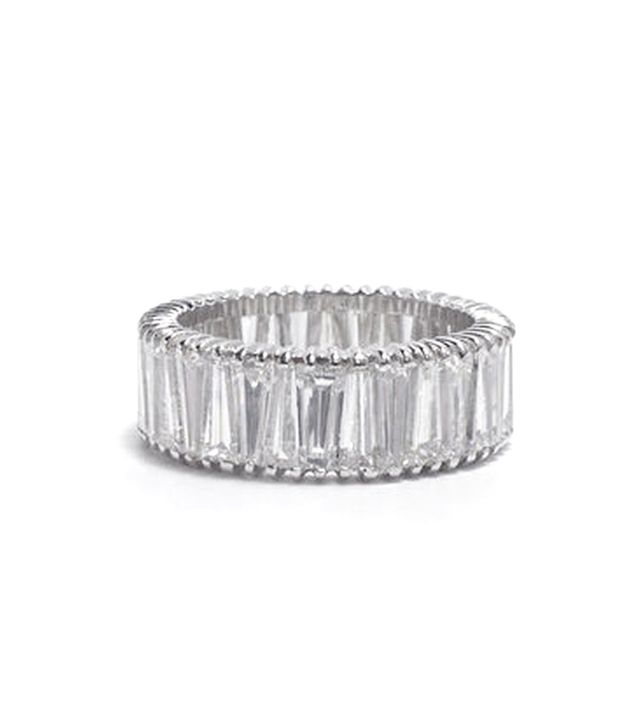 Ashley Zhang Tapered Baguette Eternity Band