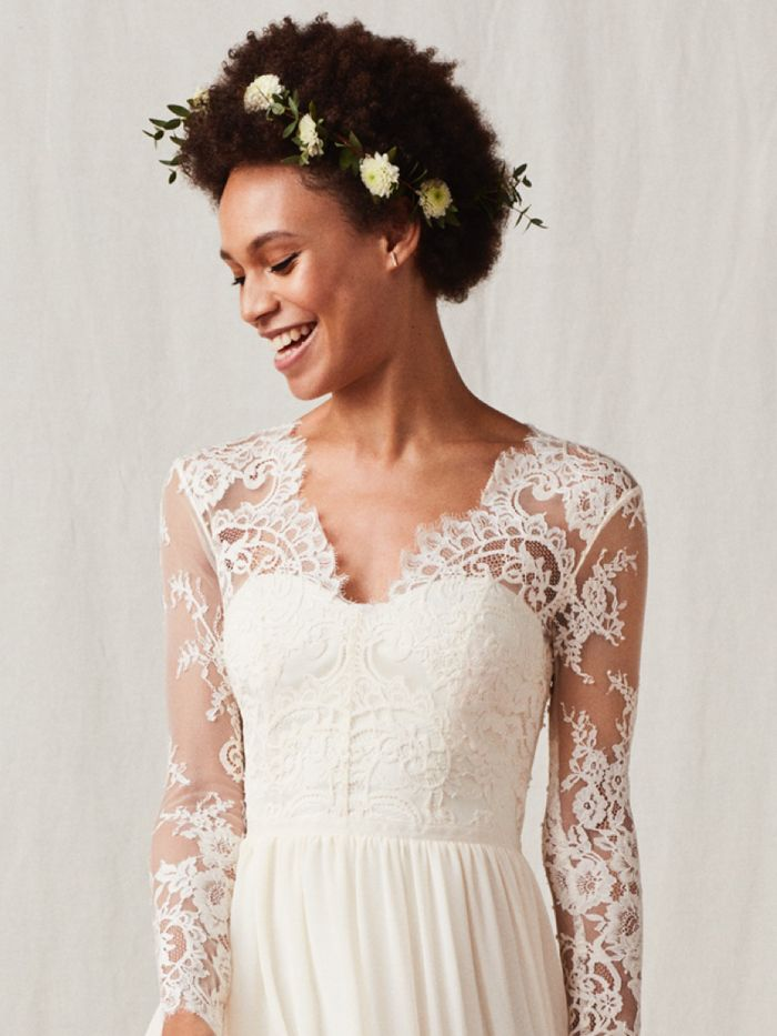 This Is What a $60 H&M Wedding Dress Looks Like | Who What Wear