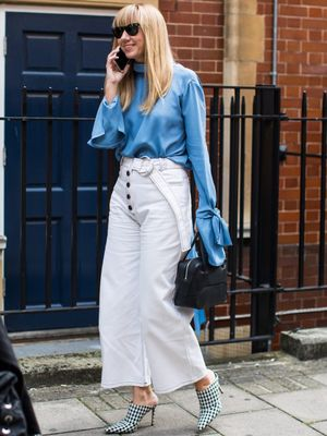 6 Ways to Wear This Polished Denim Trend to Work