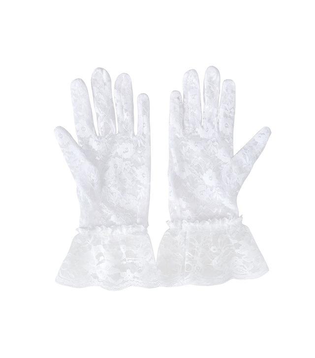 Deceny CB Short Lace Gloves