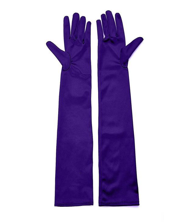 QNPRT Opera Satin Long Gloves