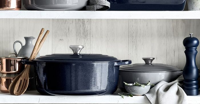 macy 39 s is having a 30 off le creuset sale mydomaine. Black Bedroom Furniture Sets. Home Design Ideas