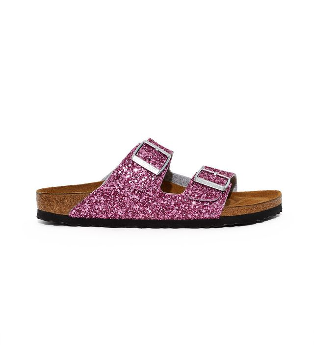 Birkenstock x Opening Ceremony OC Glitter Arizona Sandals in Pink