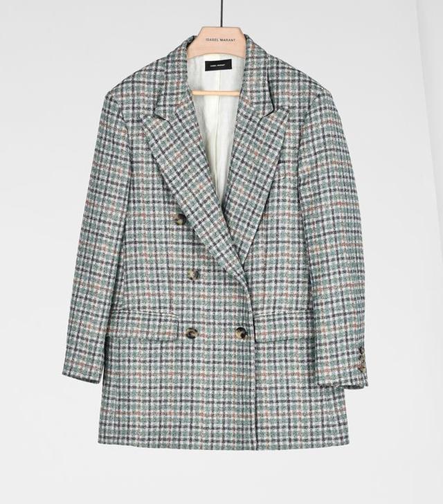 Isabel Marant Telis Prince of Wales Jacket