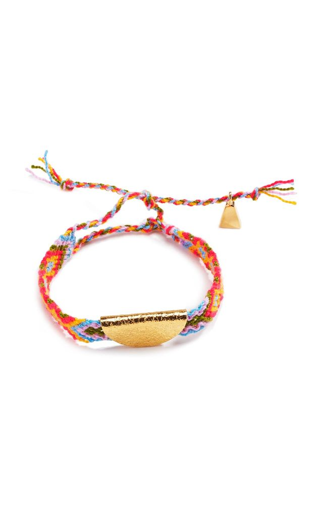 Lucy Folk Gold Taco Friendship Band