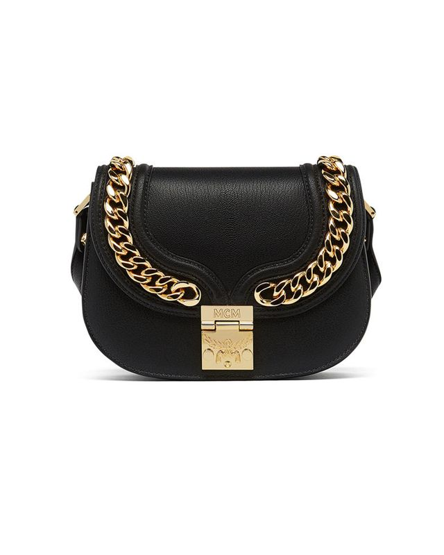 MCM Small Trisha Chain Shoulder Bag