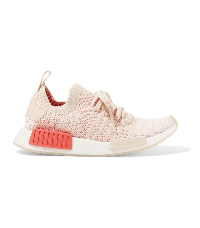 Nmd r1 Rubber-trimmed Primeknit Sneakers