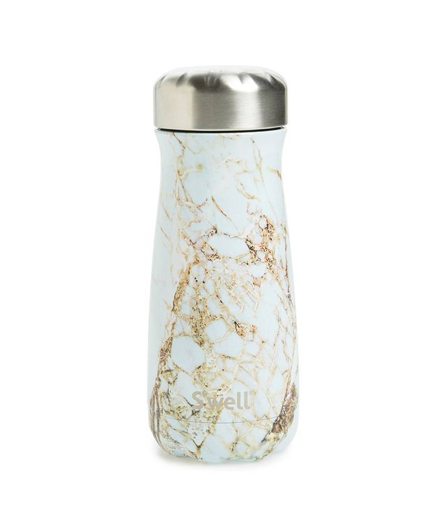 S'Well Traveler Calacatta Gold Insulated Stainless Steel Water Bottle