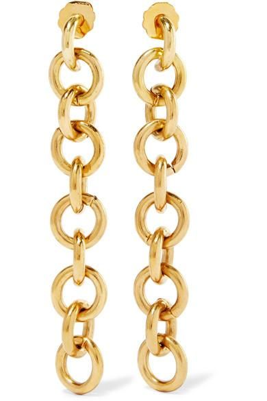 Fede Gold-tone Earrings