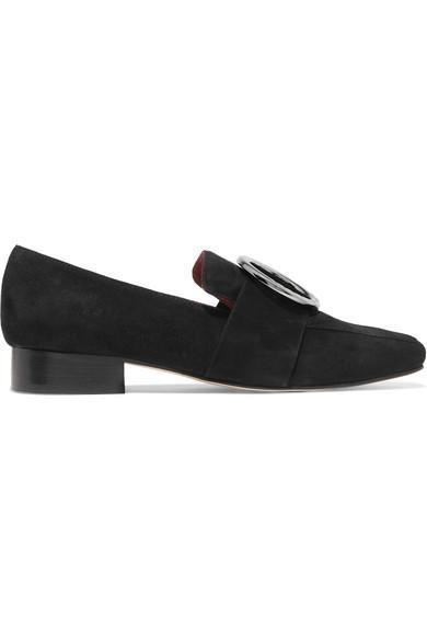 Harput Embellished Suede Loafers